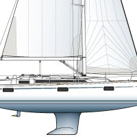Bavaria 37 drawing