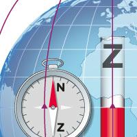 kompas magnetisch veld